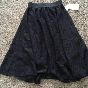 XXS LuLaRoe Lola skirt